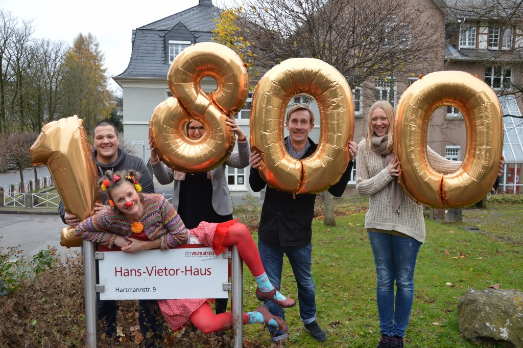 Clownsgala 1800 Spendenerlös für Hans Vietor Haus