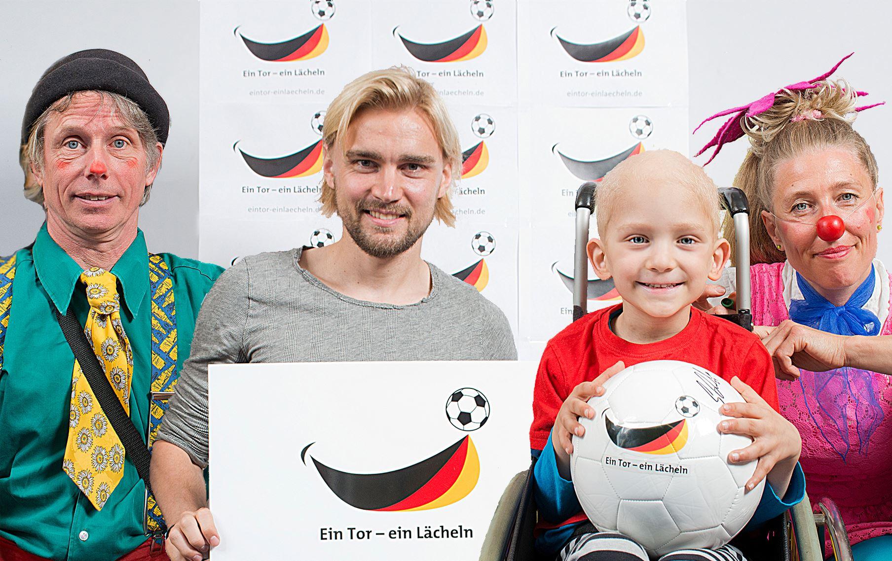 """""""Ein Tor – ein Lächeln"""": 54.500 Euro für Clownsvisite am Universitätsklinikum Essen"""