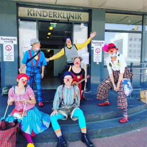 Clowns in Essen