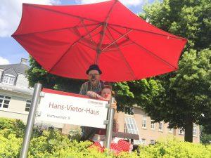 Bild zeigt Clowns im Hans-Vietor-Haus
