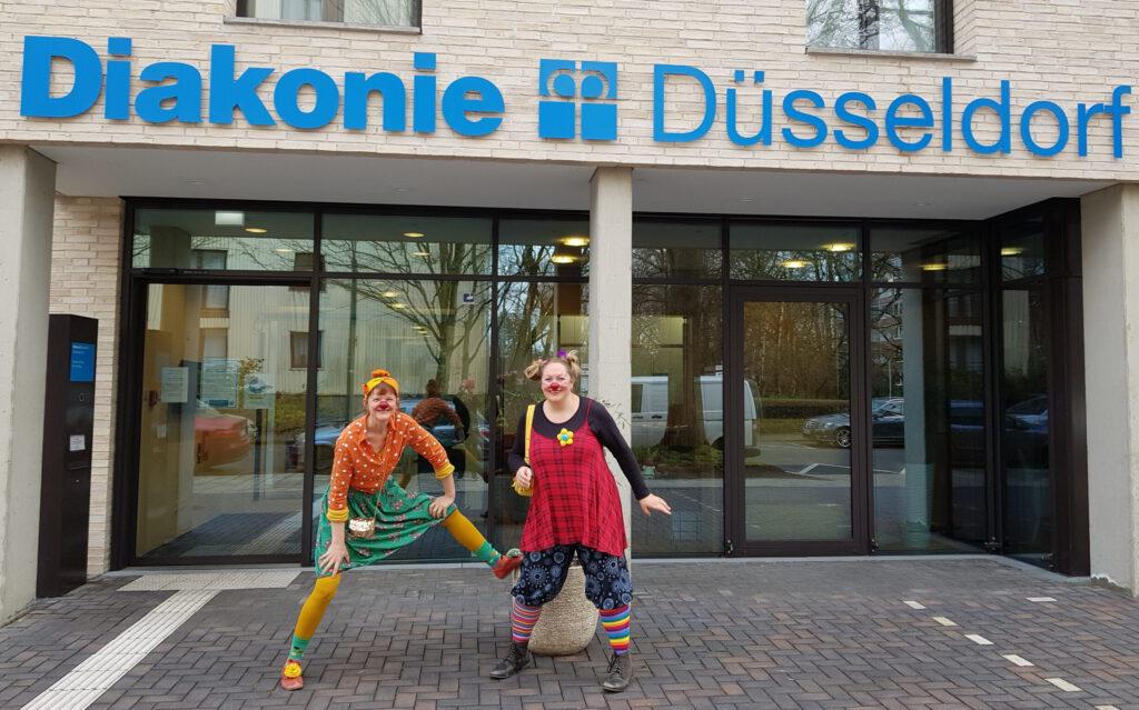 Molly und Wilma in Düsseldorf