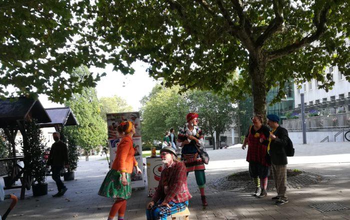 Clowns in Essen